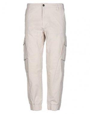 Повседневные брюки ANERKJENDT. Цвет: бежевый