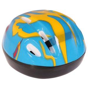 Шлем защитный детский ot-h6, размер s (52-54 см), цвет синий ONLITOP
