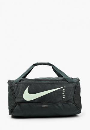 Сумка спортивная Nike NK BRSLA M DUFF-9.0 MTRL SU20. Цвет: черный