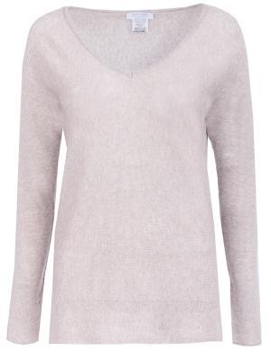 Кашемировый пуловер Gran Sasso. Цвет: бежевый