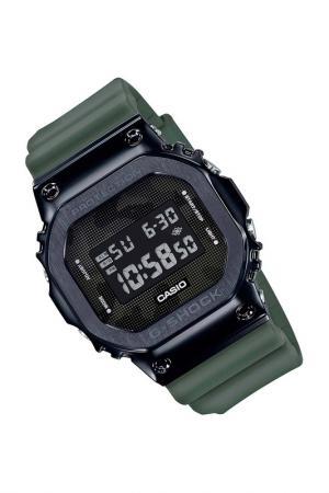 Наручные часы Casio. Цвет: зеленый