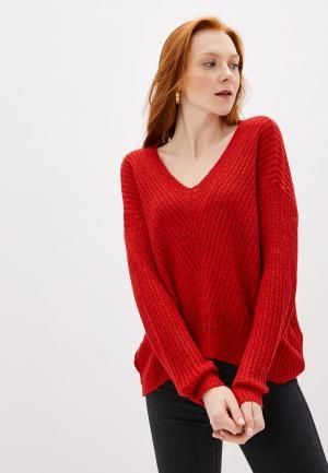 Пуловер Jacqueline de Yong. Цвет: красный