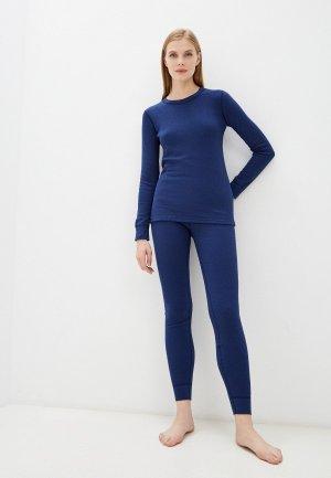 Комплект термобелья Montero Cotton Comfort EveryDay. Цвет: синий