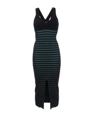 Платье длиной 3/4 OPENING CEREMONY. Цвет: черный