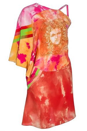 Платье Versace. Цвет: цветной