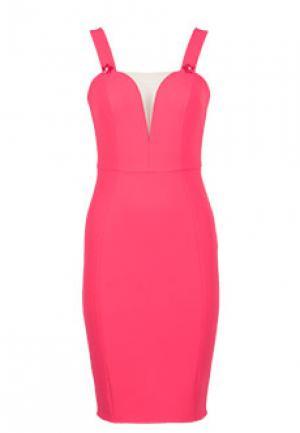 Платье ELISABETTA FRANCHI. Цвет: красный