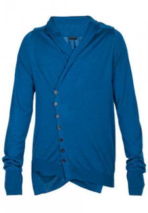 Пуловер ALEXANDER McQUEEN. Цвет: синий
