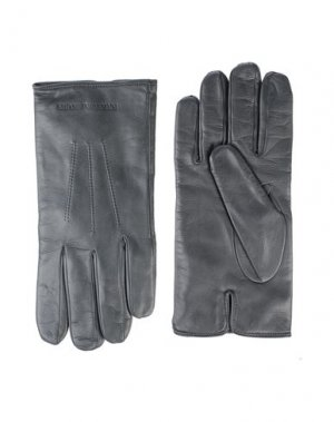Перчатки EMPORIO ARMANI. Цвет: стальной серый