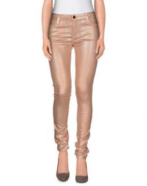 Повседневные брюки 75 FAUBOURG. Цвет: телесный