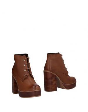 Полусапоги и высокие ботинки POLICE 883. Цвет: коричневый