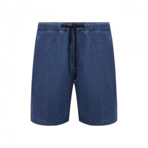 Джинсовые шорты PT Torino. Цвет: синий