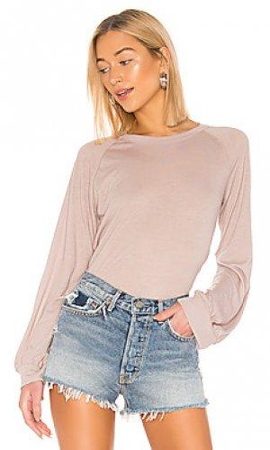 Пуловер David Lerner. Цвет: серо-коричневый