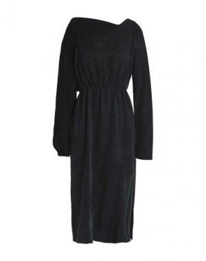Платье миди CHALAYAN. Цвет: черный
