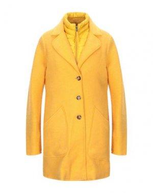 Пальто NAPAPIJRI. Цвет: охра