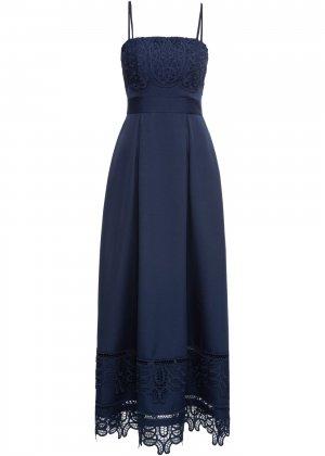 Свадебное платье bonprix. Цвет: синий