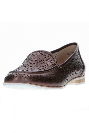 Лоферы M.Shoes. Цвет: бронзовый