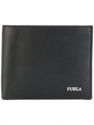 Классический бумажник Furla. Цвет: чёрный