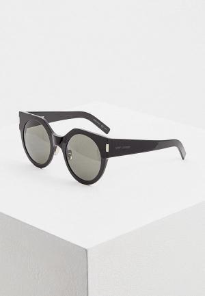 Очки солнцезащитные Saint Laurent CLASSIC 11035. Цвет: черный