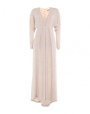 Длинное платье ANIYE BY. Цвет: телесный