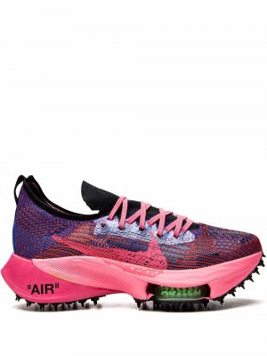 X Off-White Air Zoom Tempo NEXT% sneakers Nike. Цвет: racer синий/черный-розовый glow-whi