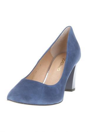 Туфли Goergo. Цвет: синий