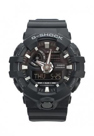 Часы Casio G-SHOCK GA-700-1B. Цвет: черный