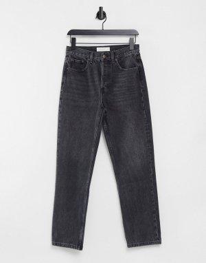 Черные джинсы скинни с покрытием Joni-Черный цвет Topshop