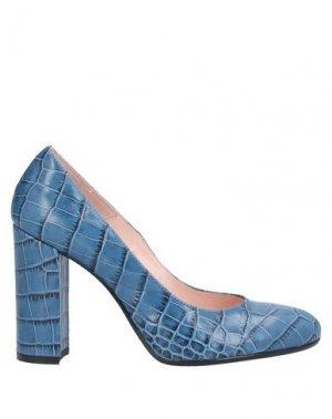 Туфли ANNA F.. Цвет: пастельно-синий