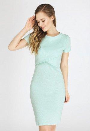 Платье Proud Mom. Цвет: зеленый