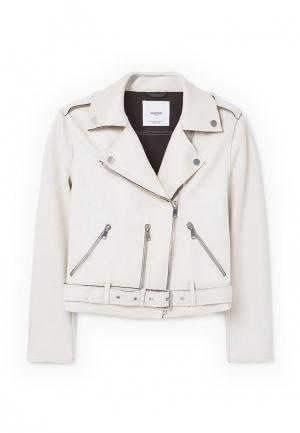Куртка Mango - SEUL. Цвет: бежевый