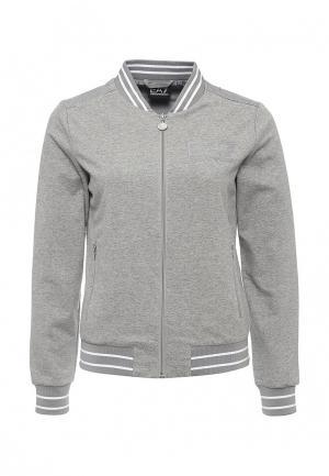Куртка EA7. Цвет: серый