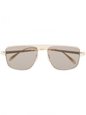 Солнцезащитные очки в квадратной оправе Alexander McQueen Eyewear