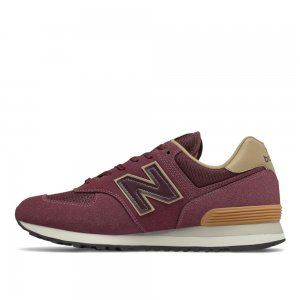 574 New Balance. Цвет: бордовый