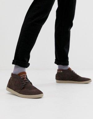 Светло-коричневые замшевые кроссовки alvendon-Светло-коричневый Boxfresh