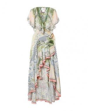 Длинное платье CAMILLA. Цвет: белый