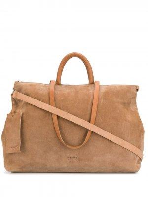 Классическая дорожная сумка Marsèll. Цвет: нейтральные цвета