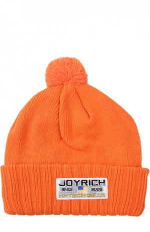 Шапка Joyrich. Цвет: оранжевый