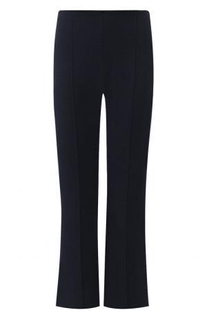 Укороченные расклешенные брюки со стрелками Sonia Rykiel. Цвет: темно-синий