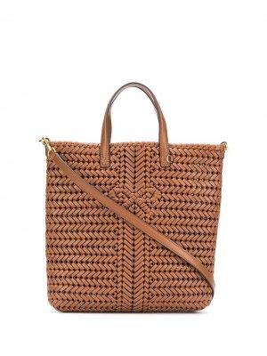 Маленькая сумка-тоут Neeson Anya Hindmarch. Цвет: коричневый