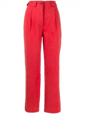 Укороченные брюки чинос Mara Hoffman. Цвет: красный