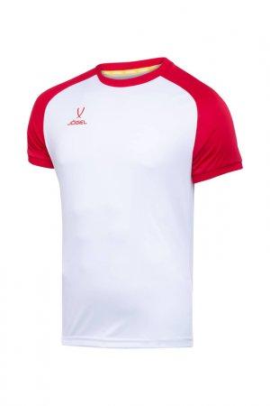 Футболка футбольная Camp Jogel. Цвет: белый, красный