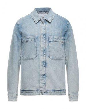 Джинсовая верхняя одежда J. LINDEBERG. Цвет: синий