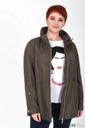 Куртка Basler. Цвет: зелёный