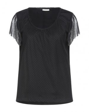 Блузка FRACOMINA. Цвет: черный