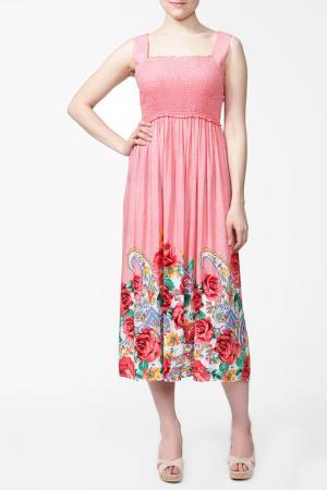 Платье MARRIOTT. Цвет: алый