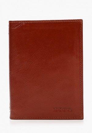 Обложка для документов Kofr. Цвет: коричневый
