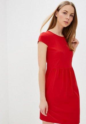 Платье Emporio Armani. Цвет: красный