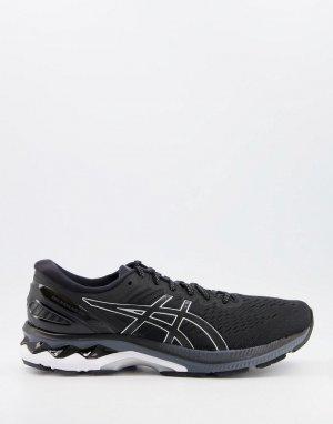 Черно-белые кроссовки Running Gel Kayano 27-Черный цвет Asics