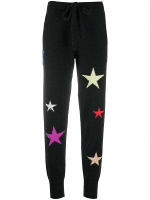 Спортивные брюки с принтом Laneus. Цвет: черный