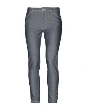 Джинсовые брюки PARAKIAN. Цвет: синий
